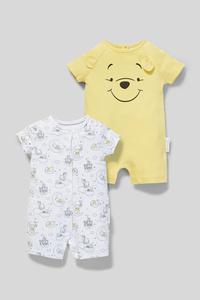 Winnie Puuh - Baby-Schlafanzug - Bio-Baumwolle - 2er Pack