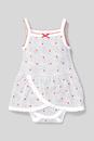 Bild 1 von C&A Baby-Schlafanzug-Bio-Baumwolle-gepunktet, Weiß, Größe: 92