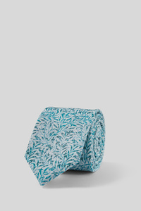 C&A Krawatte-Leinen-Mix, Blau, Größe: 1 size