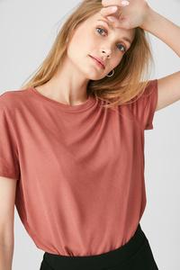 C&A Basic-T-Shirt, Rot, Größe: XL