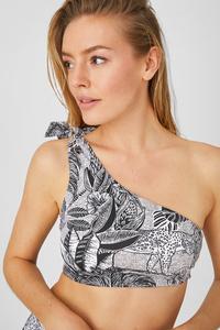 C&A Bikini-Top-wattiert-recycelt, Weiß, Größe: 34