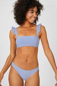 Bikini-Hose - gestreift