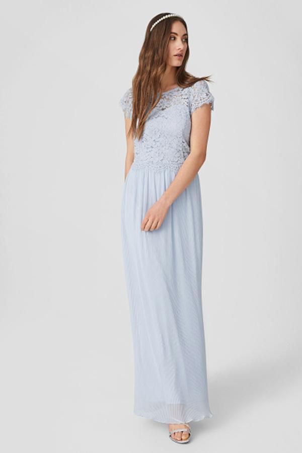C&A Fit & Flare Kleid-festlich, Blau, Größe: 46 von C&A ...