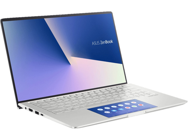ASUS ZenBook 13 (UX334FLC-A3175T) Notebook mit Core i7, 8 GB RAM, 1 TB & GeForce MX250 in Icicle Silver