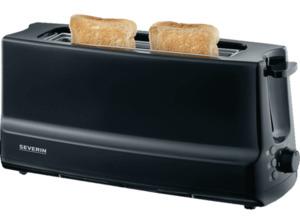 SEVERIN AT 2233 Toaster in Matt Schwarz