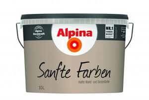 Alpina Sanfte Farben 10 l, sandstein