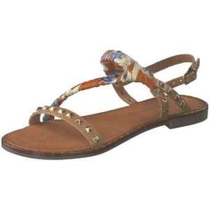 Artigiano Italiano Sandale Damen braun