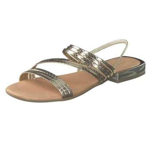 Artigiano Italiano Sandale Damen gold
