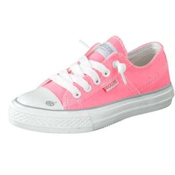 Dockers Slipper Mädchen rosa