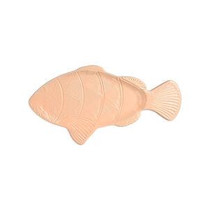 Wandobjekt Fisch, L:17cm x B:32,5cm, lachs