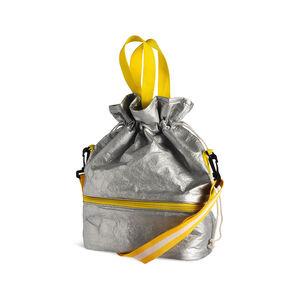 Tasche mit Kühlfach, L:25cm x H:36cm, silber