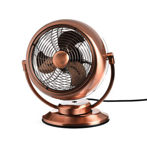 Windmaschine Vintage, L:32cm x B:18cm x H:36cm, kupfer