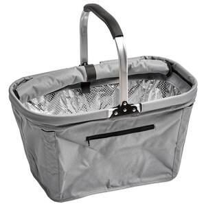 Boxxx Einkaufskorb , Lw-G812C , Grau , Metall, Kunststoff , 27x27x50 cm , 0085170009