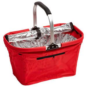 Boxxx Einkaufskorb , Lw-G812C , Rot , Metall, Kunststoff , 27x27x50 cm , 0085170011