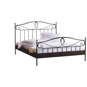 Hasena Bett 180/200 cm  , Romantic , Schwarz , Metall , 180x200 cm , lackiert , Über- und Sondergrößen erhältlich,Über- und Sondergrößen erhältlich,Über- und Sondergrößen erhältlich,Über
