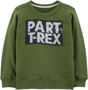 Sweatshirt mit Wendepailletten  grün Gr. 128 Jungen Kinder