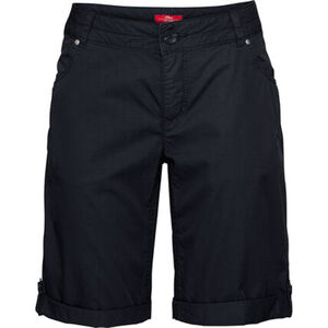 S.Oliver Bermudas, Regular Fit, Turn-up, für Damen