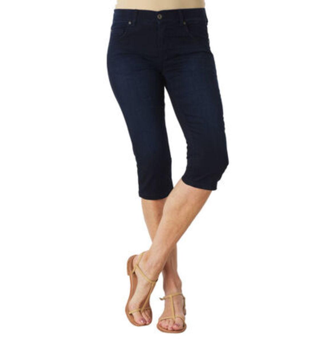 """Bild 1 von Angels Jeans """"Anacapri"""", Capri-Stil, dezente Waschung, Label-Patch"""