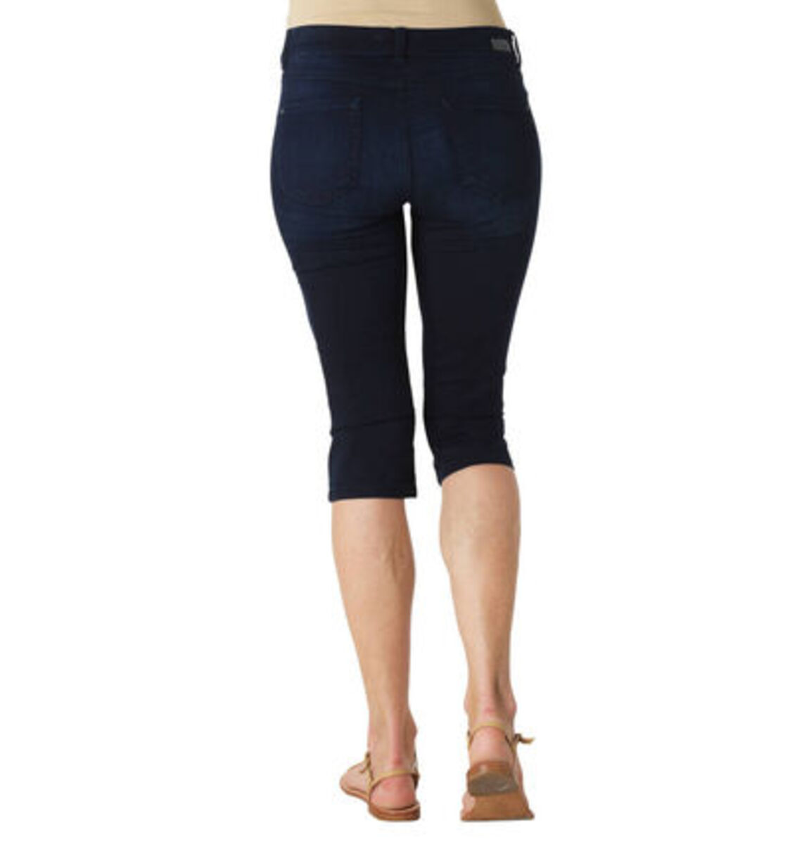 """Bild 3 von Angels Jeans """"Anacapri"""", Capri-Stil, dezente Waschung, Label-Patch"""