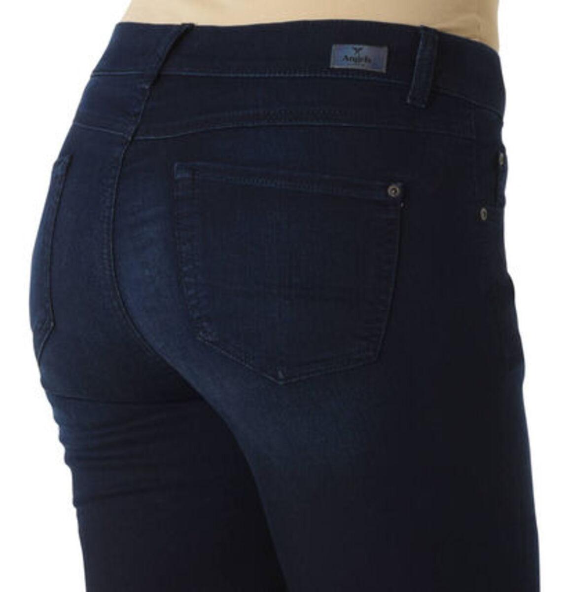 """Bild 4 von Angels Jeans """"Anacapri"""", Capri-Stil, dezente Waschung, Label-Patch"""