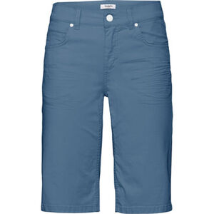 Angels Jeans-Shorts, dezente Waschung, Label-Patch