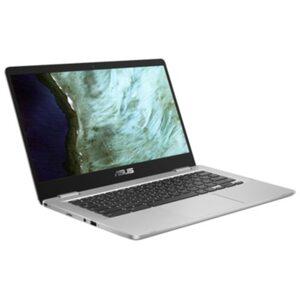 "ASUS Chromebook 14""FHD silber Celeron N3350 4GB/64GB eMMC ChromeOS C423NA-EB0400"
