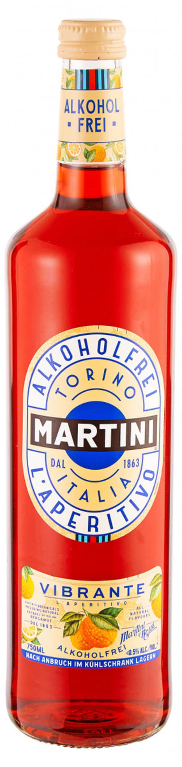 Martini Vibrante, Alkoholfrei