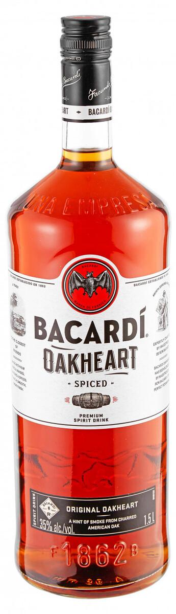 Bild 1 von Bacardi Oakheart - 1,5 L