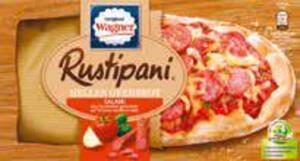 Original Wagner Rustipani Salami auf Tomate-Basilikum-Soße