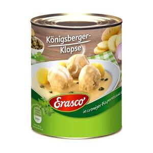 Erasco Königsberger Klopse, Hackbällchen oder Kohlrouladen  jede 800-g-Dose