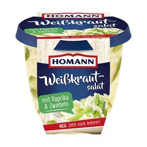 Homann Weißkrautsalat oder Feiner Pellkartoffelsalat und weitere Sorten, jede 400-g-Packung