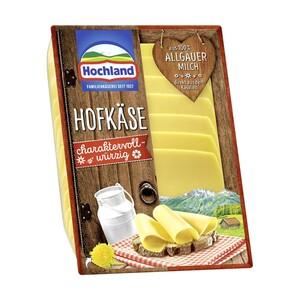 Hochland Hofkäse, Schmelzkäse Ecken, Käse Creme oder Sandwich Scheiben 150g Schmelzkäsezubereitung, 45/50 % Fett i. Tr., versch. Sorten, jede 130/150/200-g-Packung