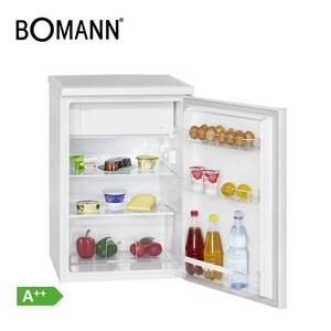 Kühlschrank KS 2184 A++ · 119 Liter Nutzinhalt, davon 14 Liter Gefrierfach · Maße: H 84,5 x B 56,0 x T 57,5 cm · Energie-Effizienz A++ (Spektrum: A+++ bis D)