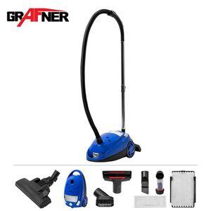 Grafner Bodenstaubsauger BS10818 700W Blau