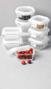 3er-Set Mini-Frischhaltedosen