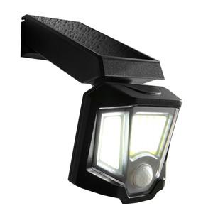 Goodlight LED-Solar-Wandleuchte - Schwarz