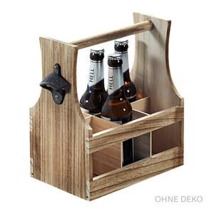 Kesper Flaschenträger aus Holz