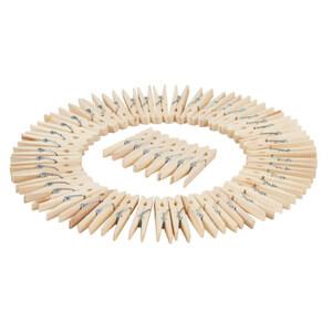 ProVida Holz Wäscheklammern 50 Stück