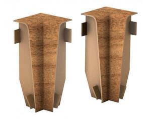 Innenecken für Laminatleisten, Nussbaum, ca. 58 mm hoch