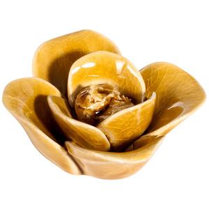 Kleine Deko-Blüte aus Keramik