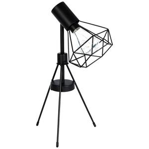 LED-Tischleuchte mit Metallgestell