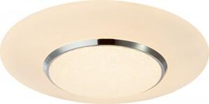 Globo Deckenleuchte Candida Metall weiß, Kunststoff opal