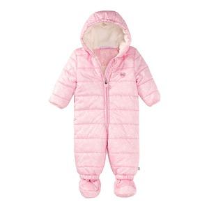 Baby-Mädchen-Overall mit Schuhen und Kapuze