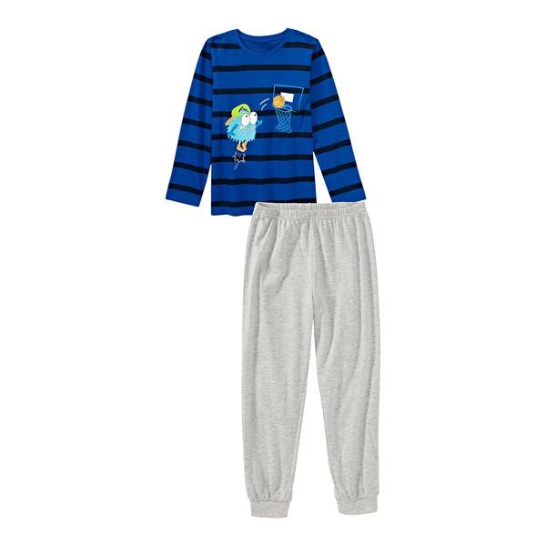 Jungen-Pyjama mit Frontaufdruck, 2-teilig