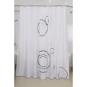 Venus Textil-Duschvorhang Rings