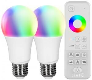 Müller-Licht TINT E27 LED Starterset Birnenform 9,5W, Zigbee, funktioniert mit Alexa, RGB 1800-6500 K