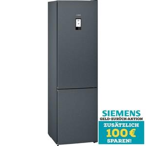 Siemens Kühl-Gefrier-Kombination KG 39 NAXDB Blackinox TopTeam