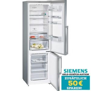 Siemens Kühl-Gefrier-Kombination KG 39 NEIDQ Edelstahl Top Team