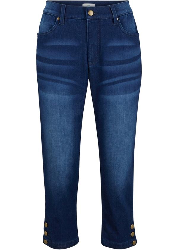 Nachhaltige 3/4-Jeans, Recycled Polyester
