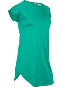 Luftiges Sport-Longshirt, kurzarm